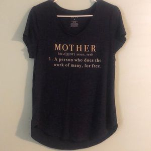 "🔴Ladies ""Mother"" tee"